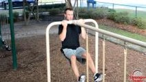 Strength & Power Workout At The Park