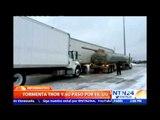 Ola de frío provocada por la tormenta 'Thor' causa estragos a su paso por Estados Unidos