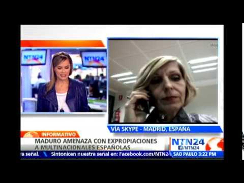 Amenazas de Maduro contra empresas españolas