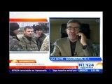 """Cese al fuego en Ucrania """"abre la puerta"""" al fin al conflicto con prorrusos: Experto en terrorismo"""