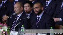 Japanese rugbymen given a heroes' welcome in Tokyo