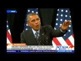 Obama defiende sus acciones ejecutivas e insta a los republicanos a aprobar una reforma