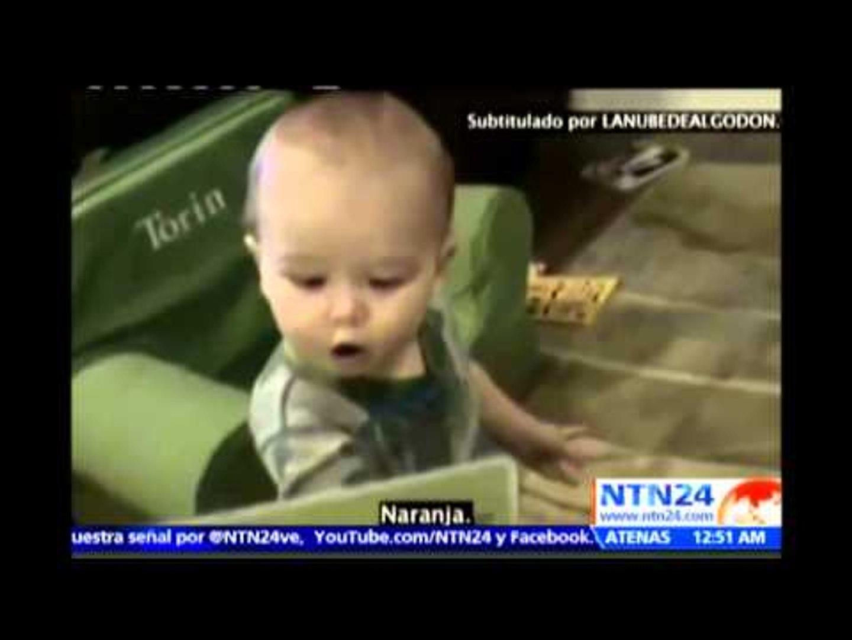 ¡Sorprendente! Con tan solo 16 meses este bebé asombra al mundo por su capacidad para leer