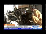 Atentado terrorista en Pakistán deja al menos tres personas muertas y 24 heridas