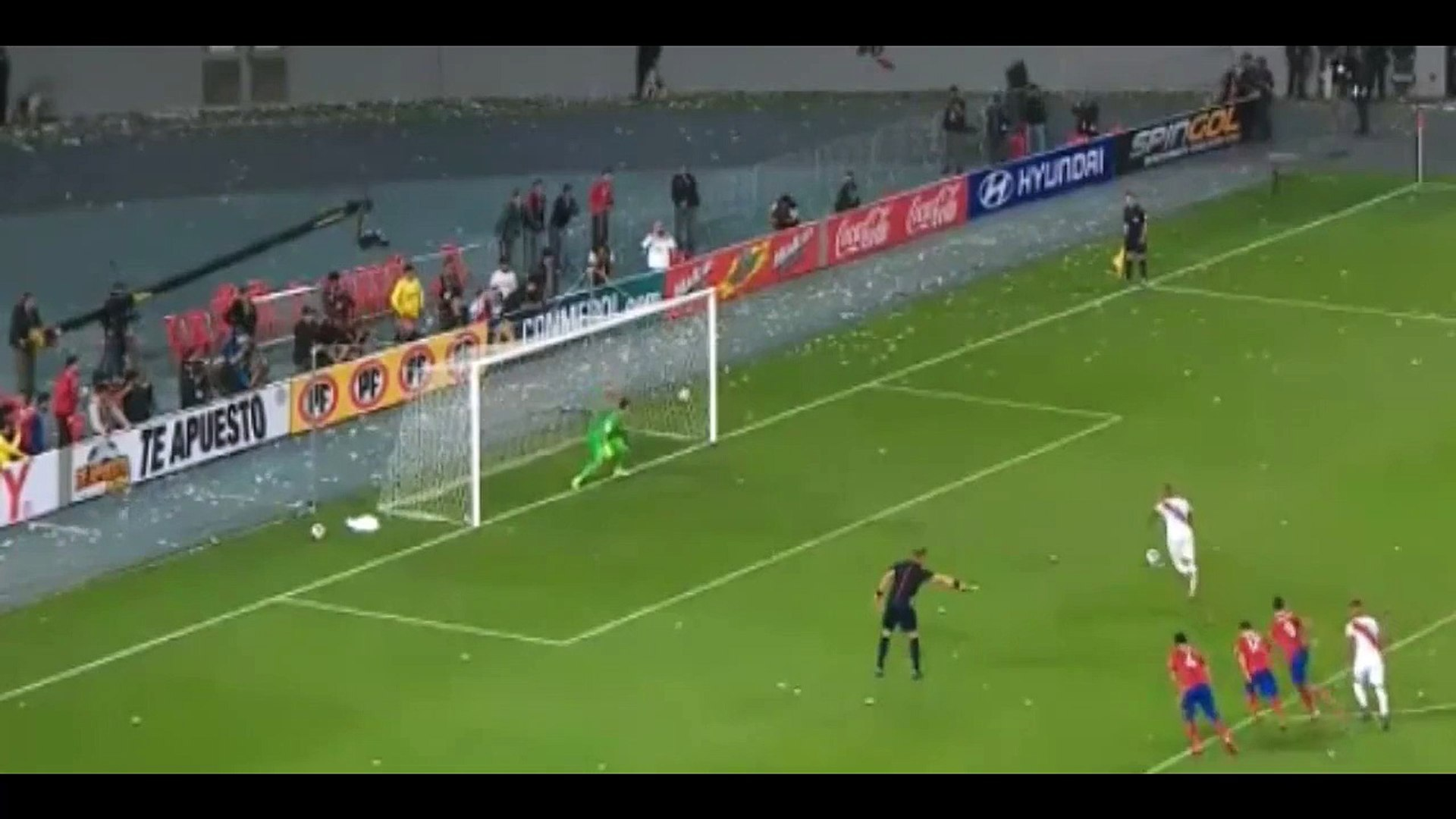 Jefferson Farfan Second Goal ~ Peru vs Chile 2-1