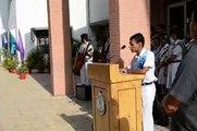 Vote Of Thanks by Akash Kumar  Head Boy(Add.) Delhi Public school, Ranchii
