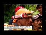 Continúan labores de rescate de cinco mineros atrapados en Nicaragua