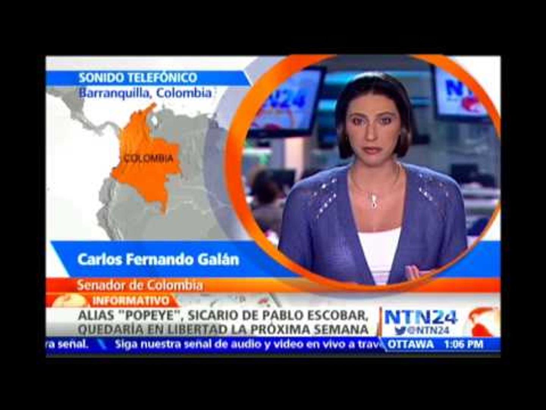 Carlos Fernando Galán analiza en NTN24 la liberación de alias