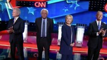 Hillary Clinton, Bernie Sanders spar in Democratic debate