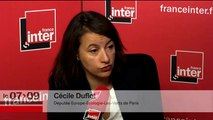 """Cécile Duflot : """"L'arrestation des syndicalistes d'Air France, """"une scénarisation de l'autorité contre les plus faibles"""""""""""