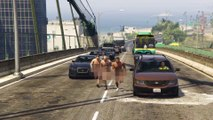GTAV remake of Blink-182's 'What's My Age Again' Video