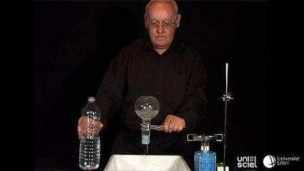 Faire bouillir de l'eau en dessous de 100°C (le bouillant de Franklin)