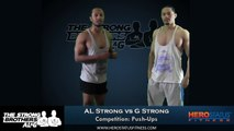 Push Ups Competition AL vs G - 2 Minutes Push Up Challenge By The Strong Brothers