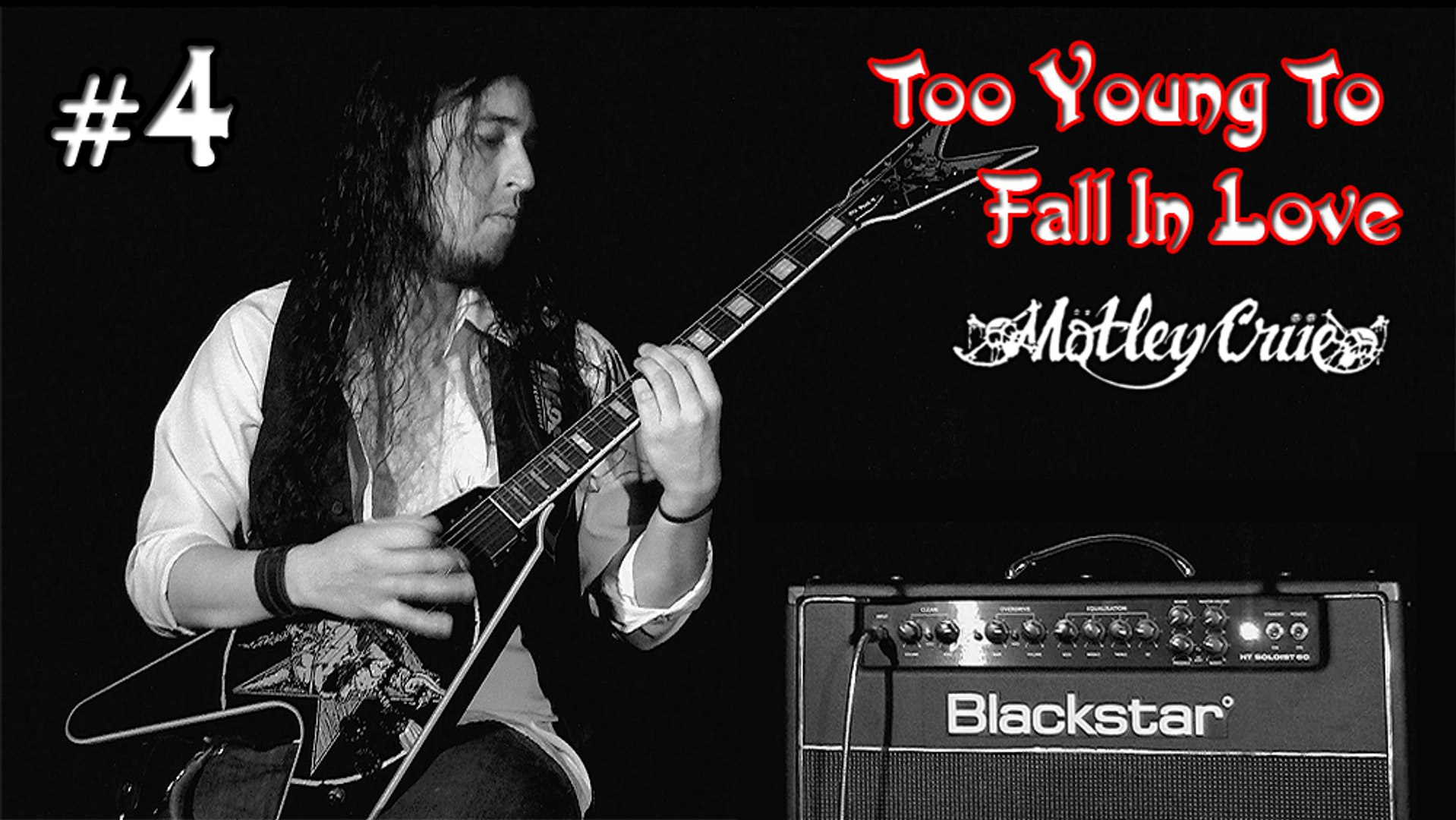 Motley Crue - Too Young To Fall In Love (cover) - by: Paulo Alves