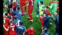 Turkey Iceland 1 0 gol Inan - Celebration end game, audio fans - Turchia Islanda 0 1