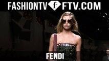 First Look! Fendi Spring 2016 Collection ft. Karl Lagerfeld & Silvia Venturini Fendi | FTV.com