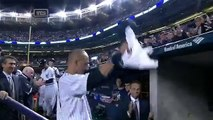 Derek Jeter Hugs Joe Torre As He Walks off the Field in Last Game-aWlka1FENak