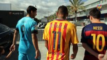 Messi, Neymar & Suárez - Making of Revista Barça