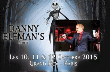 Danny Elfman - Concert Paris (Grand Rex)