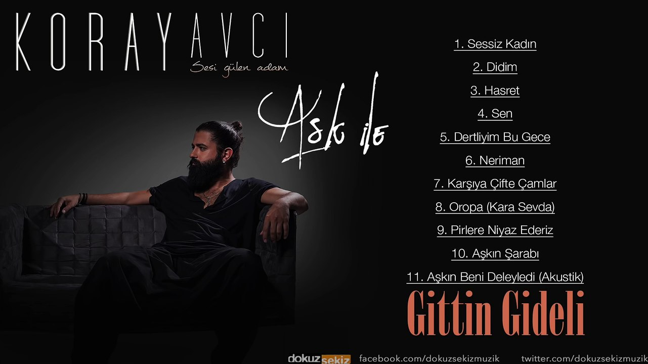 Koray Avcı - Gittin Gideli - Dailymotion Video
