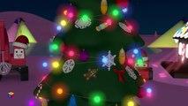 Dessins animés de Noël pour les enfants. Le train Tchou Tchou fête la nouvelle année.