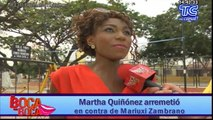 Martha Quiñónez no cree en la Barbie Ecuatoriana, asegura que mintió al revelar que casi pierde la vida
