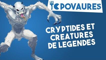 5 cryptides et créatures de légendes - Les Topovaures #14