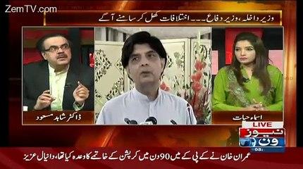 Kia Khawaja Asif 2002 Mein Pervez Elahi Ke Himayat Karne Wale the..Dr Shahid masood Reavls