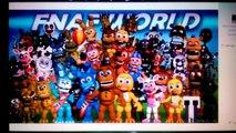Five Nights at Freddys 4 Teaser * Animatronics Reaction to Nightmare Foxy | FNAF SFM