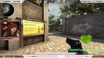 NICE SKINS CHELLI ! #4 - EPIC FAIL & EPIC WIN - Counter strike CSGO FR - Funny Moments - C
