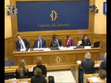 Roma - Conferenza stampa di Pierpaolo Vargiu e Ilaria Capua (14.10.15)