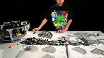 7 Year Old Builds LEGO DEATH STAR in 3 minutes! Time lapse Build of LEGO Star Wars Set 101