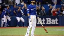 Jose Bautista's epic bat flip after his 3-run homer gave Blue Jays lead
