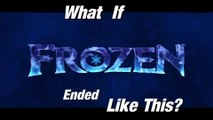 What If Disney Frozen Ended Like This  Frozen Alternate Ending  how frozen should have ended