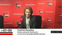 """Charlotte Rampling : """"La mort de ma sœur c'est ce qui a fait ce que je suis"""""""