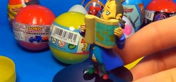 18 Surprise eggs Kinder Surprise SpongeBob Disney PLANES Cars HELLO KITTY SPIDER-MAN TOY Story! [Full Episode]