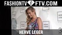 Herve Leger Spring 2016 Arrivals at New York Fashion Week   NYFW   FTV.com