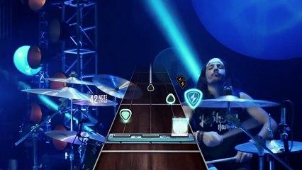 Coulisses de la pub avec James Franco et Lenny Kravitz de Guitar Hero Live