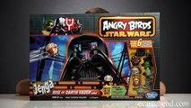Angry Birds RISE of DARTH VADER GAME Angry Birds STAR WARS II Jenga DARTH MAUL PIG!
