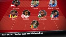 L'équipe type des éliminatoires de l'Euro 2016