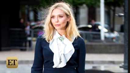OOPS! Elizabeth Olsen Channels Marilyn Monroe with a Wardrobe Malfunction at Paris Fashion