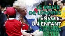 Le maire de Londres envoie au tapis un enfant de 10 ans