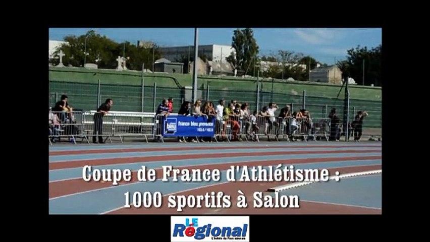 Salon : 1000 sportifs pour la coupe de France d'athlétisme
