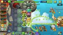 Plants Vs Zombies 2: Sky Castle 3 Star Daily Events Electric Blueberry Challenge! (PVZ 2 C