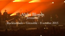"Alpha Blondy ""Jerusalem"" - Rocktambule Grenoble 8 octobre 2015"