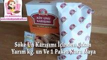 Köy Ekmeği Tarifi _ Ekmek Tarifi _ Evde Ekmek Yapımı _ Ekmek Tarifleri
