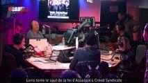 Loris tente le saut de la foi d'Assassin's Creed Syndicate - C'Cauet sur NRJ