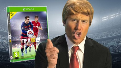 DONALD TRUMP PLAYS FIFA vs. AnEsonGIB, AirJapes, Dirty Mike | theFC