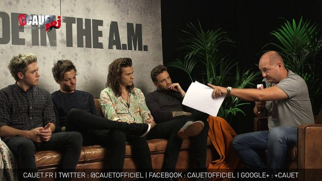 L'interview exclusive des One Direction à Londres - C'Cauet sur NRJ