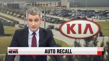 Kia Motors to recall over 419,000 Sorento SUVs in U.S., Canada